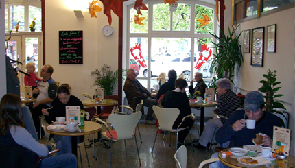Ihr sympathisches Cafe in der Innenstadt von Weimar